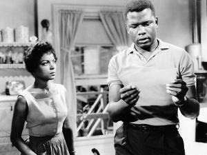 A Raisin In The Sun, Ruby Dee, Sidney Poitier, 1961