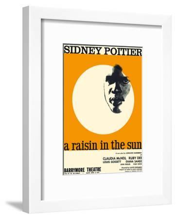 A Raisin in the Sun - Starring Sidney Poitier and Claudia McNeil-Pacifica Island Art-Framed Premium Giclee Print