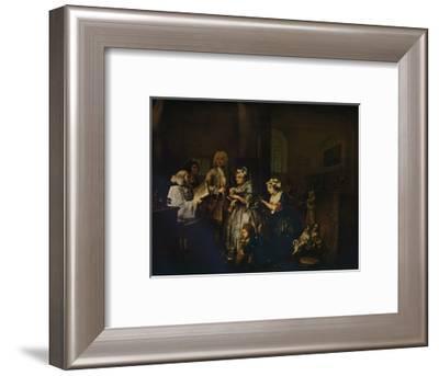 'A Rake's Progress - 5: He Marries', 1733 (1934)-William Hogarth-Framed Giclee Print