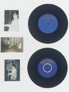 A Rare Acetate of Elton John's First Release under His Real Name, Reg Dwight, 1965