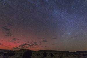 A Rare Aurora Display over Black Mesa, Okalahoma, Usa
