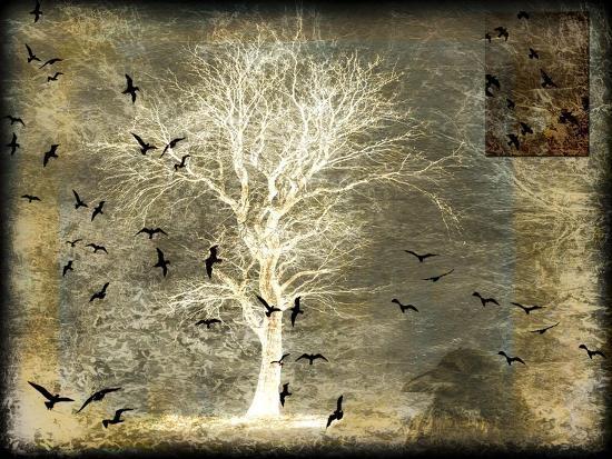 A Raven's World Spirit Tree-LightBoxJournal-Giclee Print