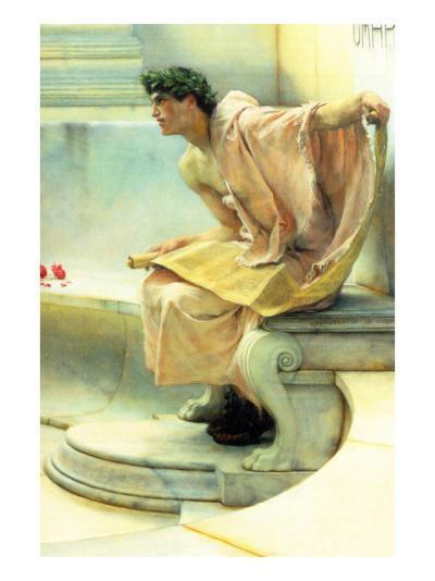 A Reading of Homer, Detail-Sir Lawrence Alma-Tadema-Art Print