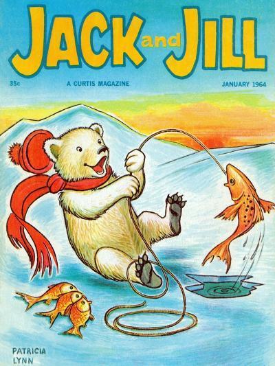 A Real Fish Story - Jack and Jill, January 1964-Patricia Lynn-Giclee Print