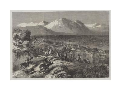 A Recent Wild-Boar Hunt in Algeria-Harrison William Weir-Giclee Print