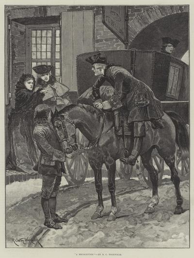 A Recognition-Richard Caton Woodville II-Giclee Print