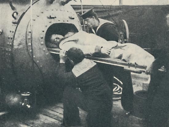'A Recompression Chamber', 1936-Unknown-Photographic Print