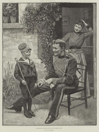 A Recruit for the Prince of Wales's Own-William Henry Charles Groome-Giclee Print