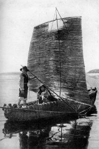 A Reed Balsa Sailing Vessel, Bolivia, 1922