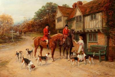 A Refresher at the Dragon-Heywood Hardy-Giclee Print