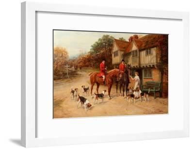 A Refresher at the Dragon-Heywood Hardy-Framed Giclee Print