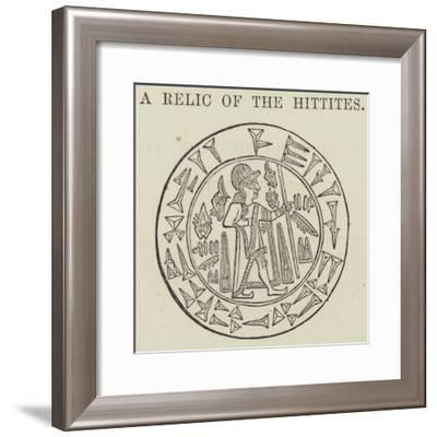 A Relic of the Hittites--Framed Giclee Print