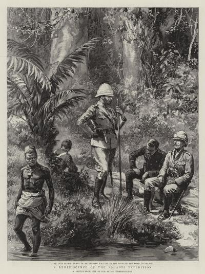 A Reminiscence of the Ashanti Expedition--Giclee Print