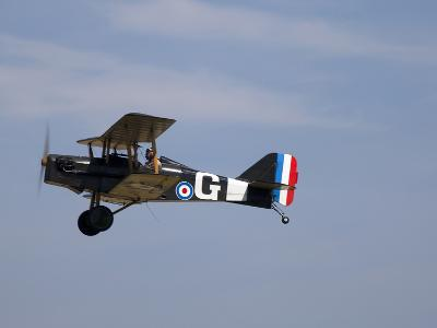 A Replica Royal Aircraft Factory Se5A World War I Biplane (80% Scale)-Pete Ryan-Photographic Print