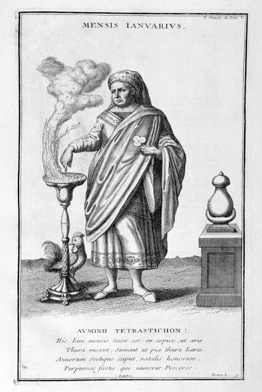 A Representation of January, 1757-Bernard De Montfaucon-Giclee Print