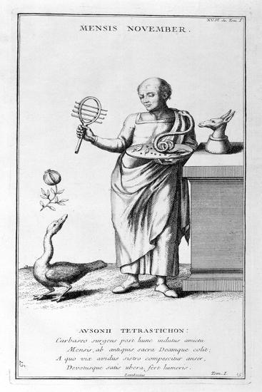 A Representation of November, 1757-Bernard De Montfaucon-Giclee Print