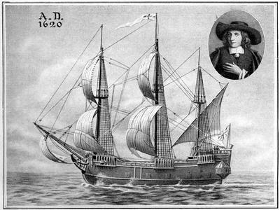 A Representation of the Mayflower, 1922--Giclee Print
