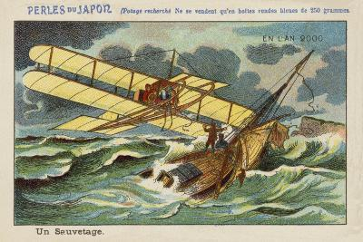 A Rescue at Sea in the Year 2000--Giclee Print