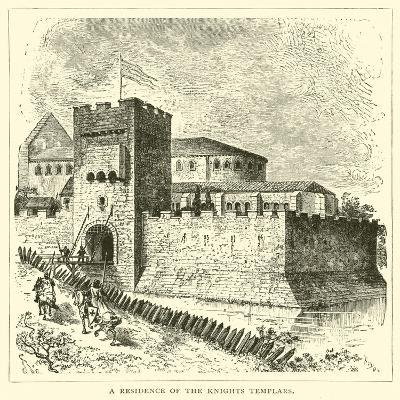 A Residence of the Knights Templars--Giclee Print
