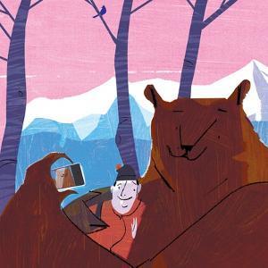 Bear Selfie by A Richard Allen