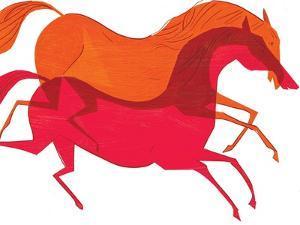 Horses by A Richard Allen
