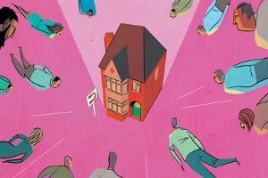 House Market Magnet by A Richard Allen