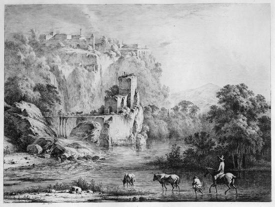 A Rider, 1800-Jean-Jacques Boissieu-Giclee Print