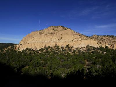 A Rock Formation at Tent Rocks National Monument-Raul Touzon-Photographic Print
