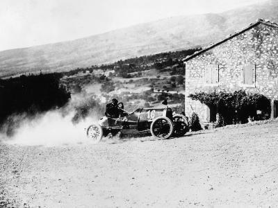 A Rolland-Pilain During the Mont Ventoux Hill Climb, Provence, France, 1909--Photographic Print