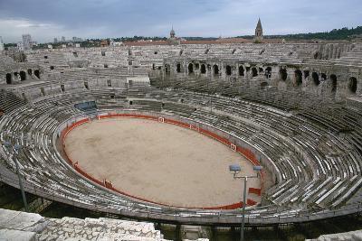 A Roman Arena, 2nd Century-CM Dixon-Photographic Print