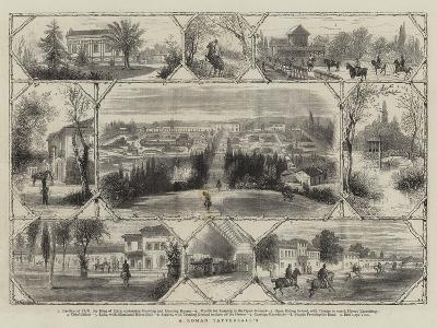 A Roman Tattersall'S--Giclee Print