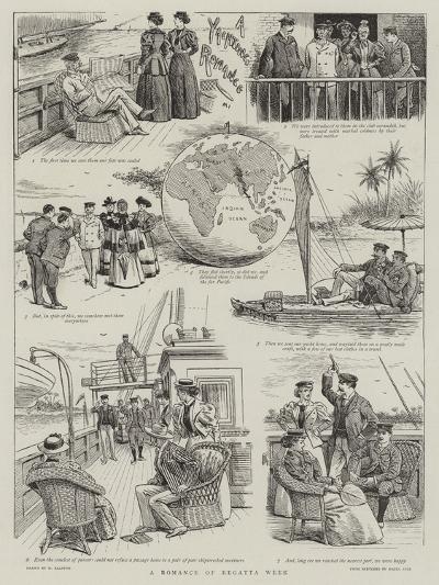 A Romance of Regatta Week-William Ralston-Giclee Print