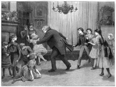 A Romp after Dinner, 1887-Henry Towneley Green-Giclee Print