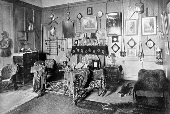A Room in Stirling Castle, Scotland, 1924-1926-Valentine & Sons-Giclee Print