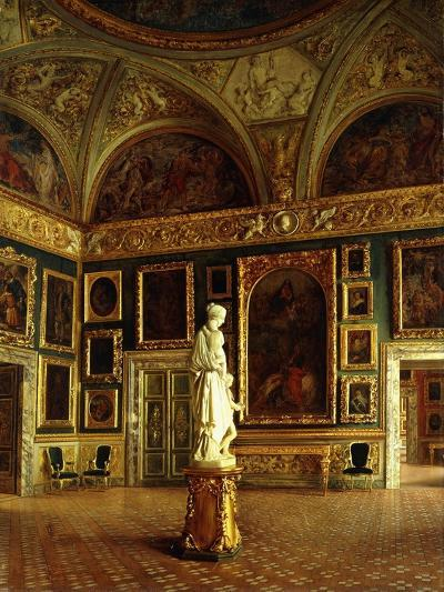 A room in the Pitti Palace-Costa Oreste-Giclee Print