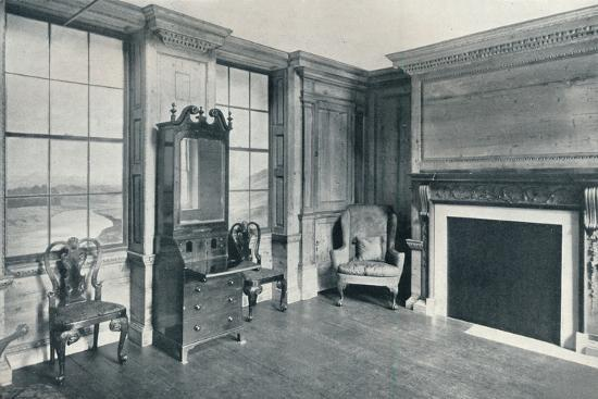 A room of c1740 from 63, Mansell Street, c1740-Unknown-Photographic Print