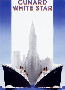 Cunard Line, White Star by A^ Roquin