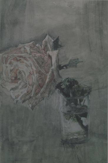 A Rose-Mikhail Alexandrovich Vrubel-Giclee Print