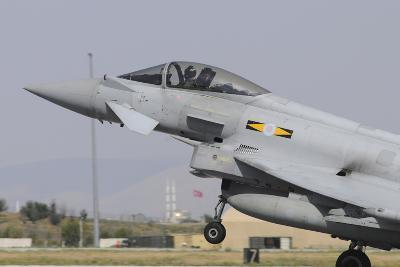 A Royal Air Force Eurofighter Ef2000 Typhoon Taking Off-Stocktrek Images-Photographic Print