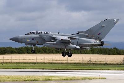 A Royal Air Force Tornado Gr4A Landing at its Home Base-Stocktrek Images-Photographic Print