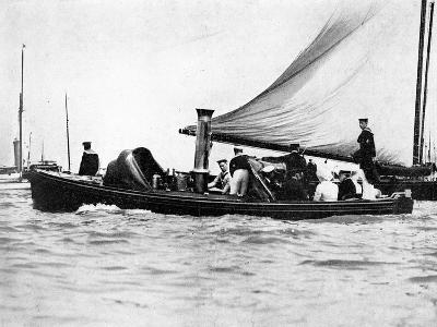 A Royal and Imperial Party at Cowes, 1910-Sport & General-Giclee Print