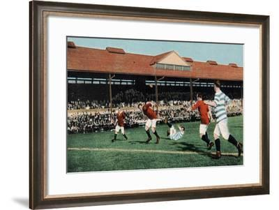 A Run by the Forwards, from B.B. London's Series No.E41--Framed Giclee Print