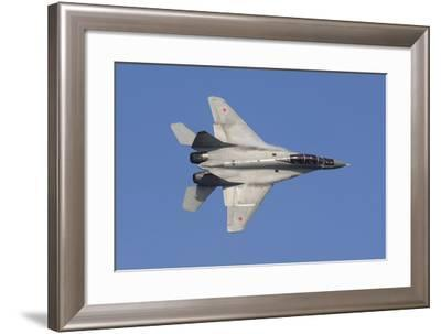 A Russian Air Force Mig-35 Fighter Plane-Stocktrek Images-Framed Photographic Print