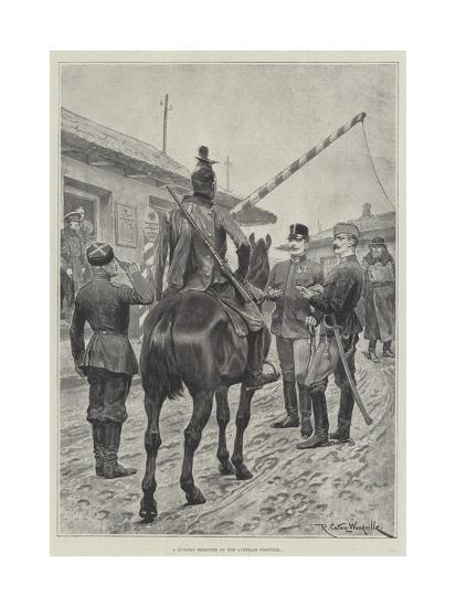 A Russian Deserter on the Austrian Frontier-Richard Caton Woodville II-Giclee Print