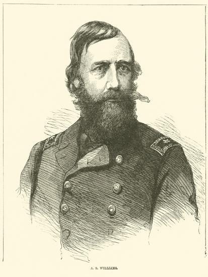 A S Williams, March 1865--Giclee Print