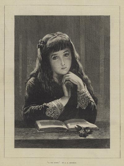A Sad Story-John Adam P. Houston-Giclee Print