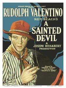 A Sainted Devil - Starring Rudolph Valentino