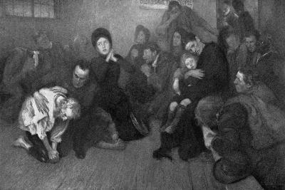 A Salvation Army Shelter, 1898-E Borough Johnson-Giclee Print