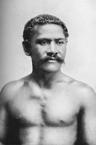 A Samoan chief, Vraila, 1902-Unknown-Photographic Print