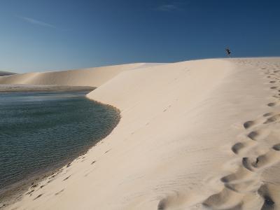 A Sand Dune Near Jericoacoara, Brazil-Alex Saberi-Photographic Print